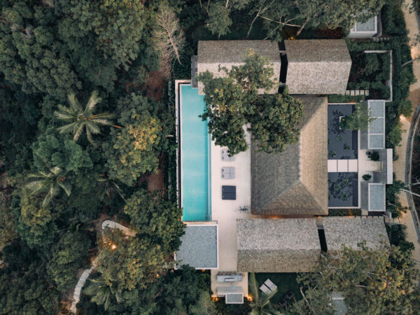 aerial hotel photography